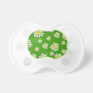 U-pick Color/ Whimsical Wildflower Daisy Sprinkles Pacifier