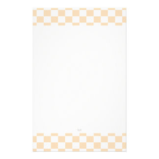 U-pick Color White Checkered Tiles Stationery