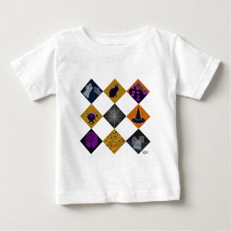 U Pick Gradient/ Halloween Trick or Treat Candy Baby T-Shirt