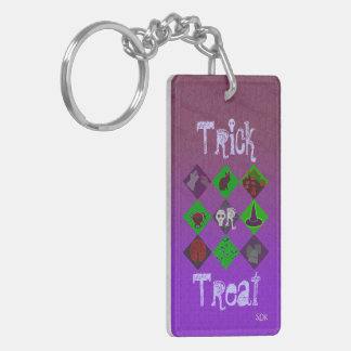 U Pick Gradient/Halloween Trick or Treat for Candy Keychain