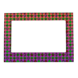 U Pick Gradient/Halloween Trick or Treat for Candy Magnetic Picture Frame