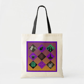 U Pick Gradient/Halloween Trick or Treat for Candy Tote Bag