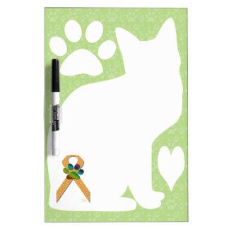 U-pick the Color/Animal Cruelty Prevention Ribbon Dry-Erase Whiteboards