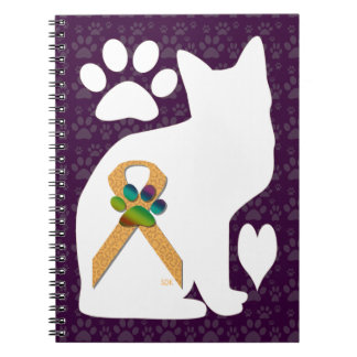 U-pick the Color/Animal Cruelty Prevention Ribbon Notebook