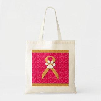 U-pick the Color/Animal Cruelty Prevention Ribbon Tote Bag