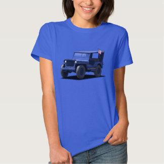 U-Pick-The-Color Ladies MJ Military Vehicle Shirt