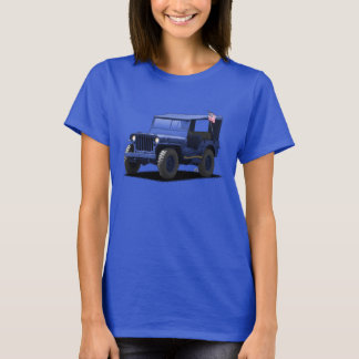 U-Pick-The-Color Ladies MJ Military Vehicle Shirt