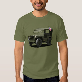 U-Pick-The-Color MJ Military Vehicle T-Shirt