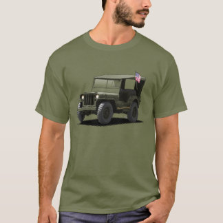 U-Pick-The-Color MJ Military Vehicle T-Shirt