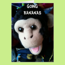 "U R ""40"" - GOING BANANAS CARD"