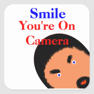 U R Being Watched! Stickers