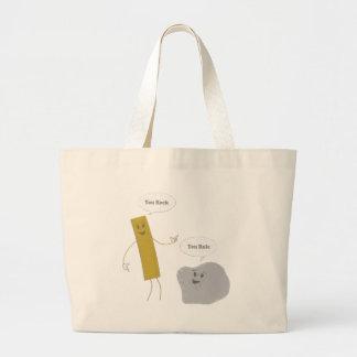 U Rock - U Rule Large Tote Bag