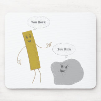 U Rock - U Rule Mouse Pad