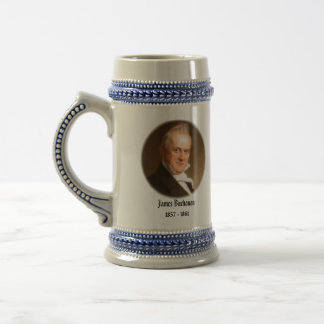 U.S.A. 15th President (Collectable Mug) 18 Oz Beer Stein