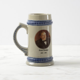 U.S.A. 24th President (Collectable Mug) Beer Stein