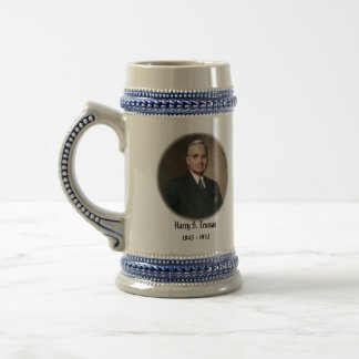 U.S.A. 33rd President (Collectable Mug) Beer Stein