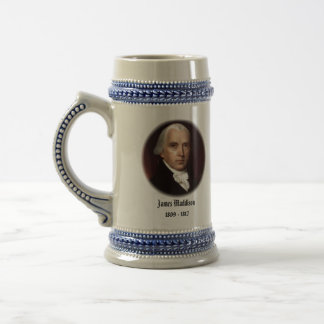 U.S.A. 4th President (Collectable Mug) Beer Stein