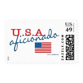 U.S.A. Aficionado Postage Stamps
