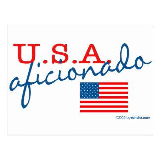 U.S.A. Aficionado Postcard