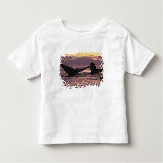 U.S.A., Alaska, Inside Passage Humpback whales Toddler T-shirt