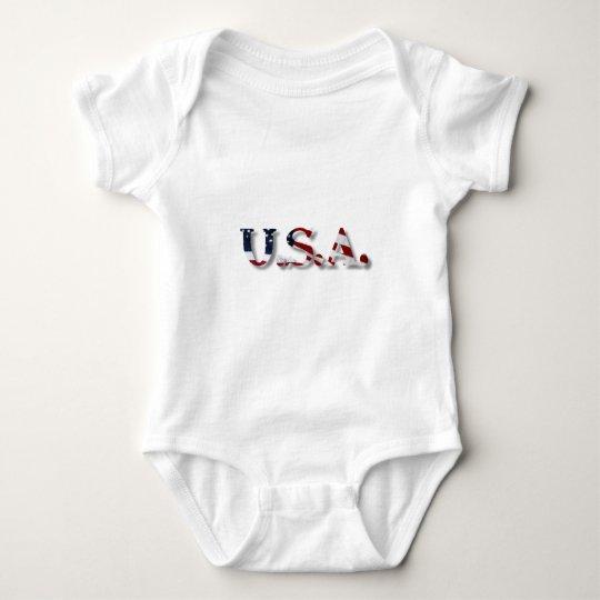 U.S.A. BABY BODYSUIT