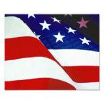 U.S.A. Bandera Impresiones Fotográficas