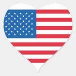 U.S.A. Bandera - pegatina