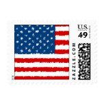 U.S.A. Bandera Sello