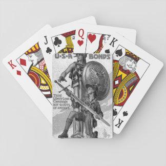 U*S*A Bonds/Third Liberty Loan_War image Deck Of Cards