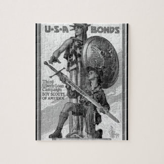 U*S*A Bonds/Third Liberty Loan_War image Jigsaw Puzzle