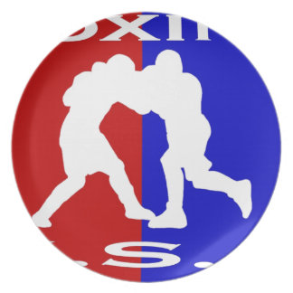 U.S.A. Boxing logo.jpg Party Plates