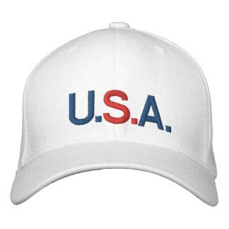 U.S.A CUSTOMIZABLE CAP by eZaZZleMan.com