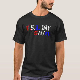 U.S.A. Día 5.1.11 Playera
