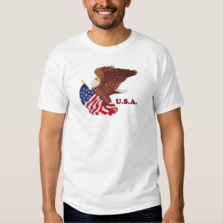 U.S.A. Eagle and Flag Shirt