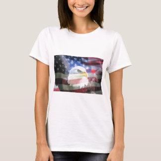 U.S.A. Eagle & Flag T-Shirt