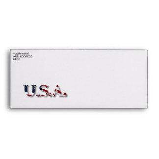 U.S.A. ENVELOPE
