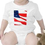 U.S.A. Flag Baby Bodysuits