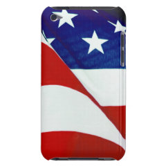 U.S.A. Flag Barely There iPod Case