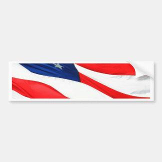 U.S.A. Flag Bumper Sticker