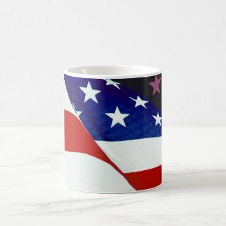 U.S.A. Flag Classic White Coffee Mug