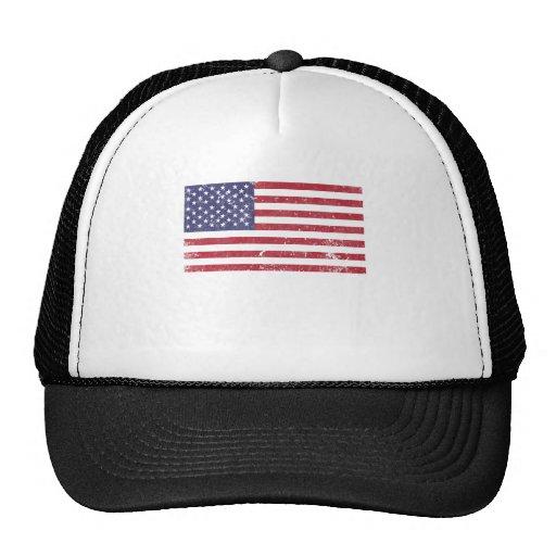 U. S. A. Flag Hat