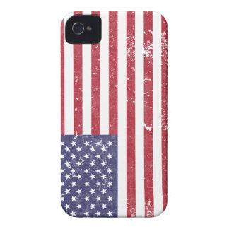 U. S. A. Flag iPhone 4 Cover
