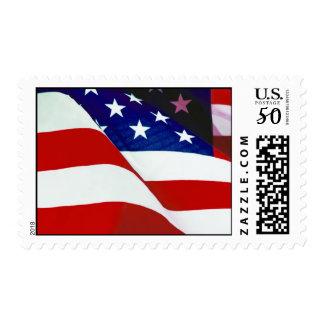 U.S.A. Flag Postage