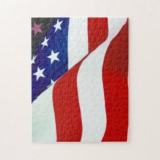 U.S.A. Flag Puzzles