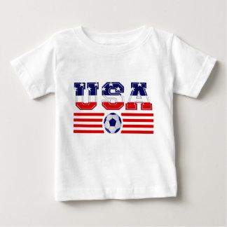 U.S.A FLAG SOCCER BABY T-Shirt