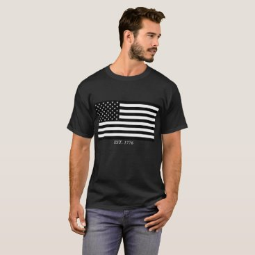 USA Themed U.S.A. Flag T-Shirt