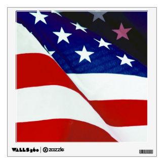 U.S.A. Flag Wall Decal