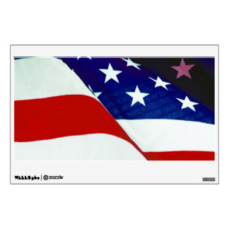U.S.A. Flag Wall Sticker