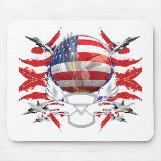 U.S.A. Fútbol Alfombrillas De Ratón