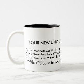 U.S.A. Hospitals BANKRUPT! Two-Tone Coffee Mug